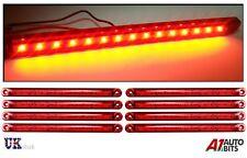 8X Rosso 15 LED 24 V Posteriore Coda Luci Di Posizione Laterali Fari Per Daf Man Scania Volvo