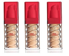 Revlon Age Defying Foundation with DNA Advantage, Golden Tan, 1 Oz (3 Pack)