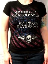 Avenged Sevenfold T-shirt Tultex Size Junior's Small