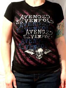 Avenged Sevenfold T-shirt Size Junior's Small