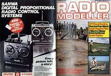 RADIO MODELLER MAGAZINE 1981 sep saab viggen plan feature, acoms ap-435 test