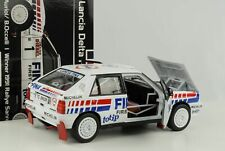 Lancia Delta HF Integrale 16V Rallye San Remo 1991 #1 Auriol Fina 1:18 Sunstar