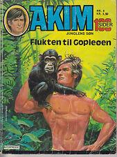 Akim Junglens So Nr. 4 Dänemark 1977 Augusto Pedrazza Z 2-3