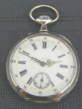 Eine schöne alte Taschenuhr  Silber  ca. um 1900