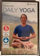Gaiam Rodney Yee's Daily Yoga 5 Practices on 1 DVD with Meditation Bonus
