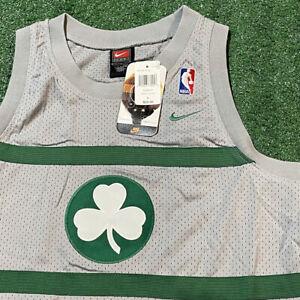 Paul Pierce Boston Celtics Jersey Boys Large Gray NBA Basketball Nike New Tags