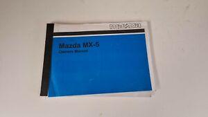 MX5 MK1 NA Owners Manual