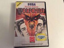 Sega Master System Wolfchild Neuf Scellé
