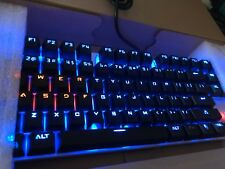 One-Up G300 Light Up Gaming Mechanical USB Keyboard - Boxed - Free P&P UK Only