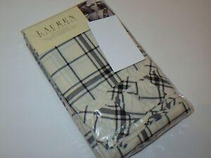 Ralph Lauren WINTER ROSE Tattersal Plaid King Pillowcases NEW