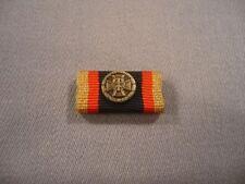 Bundeswehr Ehrenmedaille in bronze, Bandschnalle mit Auflage, Bandspange