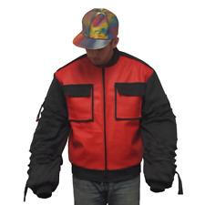 Marty McFly Jr. Jacket Back To The Future 2 II Movie Coat 2015 Sleeves Adjust
