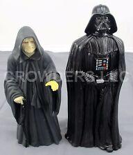 "Star Wars Classic Series 10"" Vinyl Figures Emperor Palpatine & Darth Vader 1997"