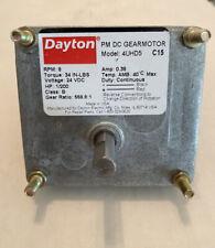 Dayton Gear Motor 516 Shaft 9 24 Vdc Brand New 3 9 Rpm Reversible Reducer