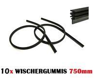 10  x 750 mm Scheibenwischer Ersatz Gummi für Bosch SWF Aerotwin Wischergummis