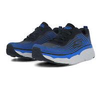 Skechers Mens Max Cushioning Elite Running Shoes Trainers Sneakers - Black Blue