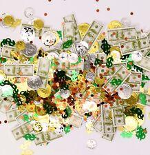 Konfetti Geld Party Konfetti Partykonfetti Moneten Penunzen Gold Reichtum Casino