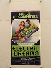 ELECTRIC DREAMS commedia regia Steve Barron locandina orig. 1985