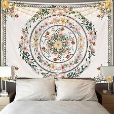Hippie Mandala Flowers Art Tapestry Room Bedspread Wall Hanging Throw Tapestries