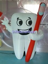 2m (6.5ft) Inflatable Tooth Advertising Dentist Ad Health Promotion CUSTOM MADE