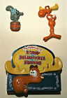Adventures of Rocky & Bullwinkle & Friends Movie Refrigeator Magnets NOS New
