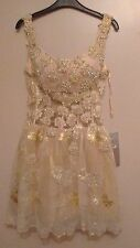 Jovani 18th/21st Birthday Dress Rrp £570 Embellished Pearls & Crystals size 8