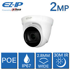 EZ-IP 2MP 1080P IP POE HD CCTV CAMERA 2.8MM WIDE ANGLE 30M NIGHT VISION BY DAHUA