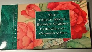 """1997 US BOTANIC GARDEN COINAGE AND CURRENCY SETS """"ONLY 3 LEFT"""" - 25,000 MINTAGE"""