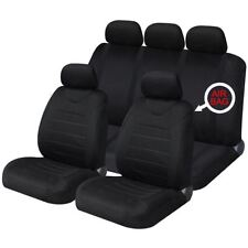 Blue Full Set Front & Rear Car Seat Covers for Land Rover Freelander All Years