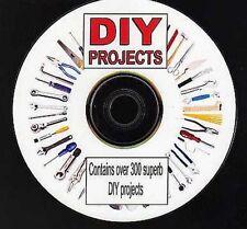 Plus de 300 SUPERBE D-I-Y des projets sur CD