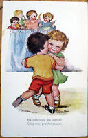 1915 Polish Postcard - Children Dancing - Artist-Signed - Poland