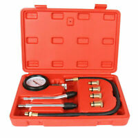 AU ENGINE COMPRESSION TEST PETROL TESTER KIT SET FOR AUTOMOTIVE CAR BRASS TOOL
