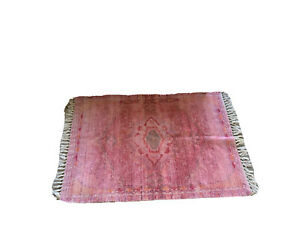 Pink ornate Rug From urban Outfirtters - Washable!