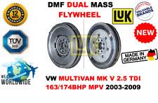 Pour VW Multivan Mk V 2.5 Tdi 163/174BHP MPV 2003-2009 Neuf Double Masse Dmf