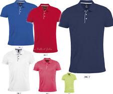 Kurzarm Herren-Freizeithemden & -Shirts mit Button-Down-Kragen aus Polyester