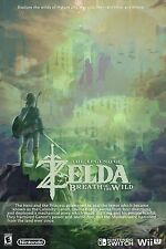 Zelda breath of the wild - Poster -  30in x 20in - Beautiful - FAST SHIPPING