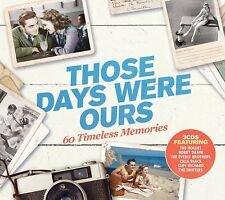 THOSE DAYS WERE OURS 3 CD VARIOUS ARTISTS (Released February 16th 2018)