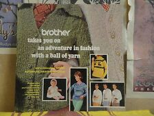 BROTHER TAKES YOU ON AN ADVENTURE IN FASHION - BROTHER KNITTING MACHINE DBL LP