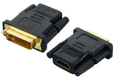 DVI-D 24+5 Pin Male to HDMI Female M-F Adapter Converter for HDTV LCD Monitor