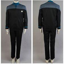 Star Trek NEM Duty Uniform Outfit Cosplay Costume Casual Full set 3 Colors