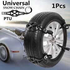 PTU Car Auto Truck Safety Tire Wheel Anti-skid Snow Chain Belt Chains Universal