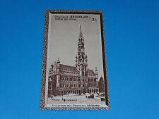 CHROMO PHOTO CHOCOLAT SUCHARD 1934 EUROPE BELGIQUE BELGIË BRUXELLES BRUSSEL