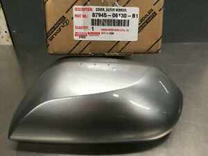 TOYOTA CAMRY OUTER MIRROR COVER DRIVER SIDE 87945-06130-B1 SILVER FITS 2018-2021