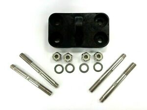 Avet Reel Clamp Set for EX80/2 EXW80/2 Reels - Clamp ,Studs & Nuts - New Parts