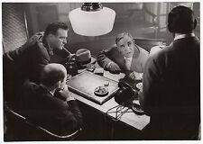 PHOTO ORIGINALE PLEIN CADRE/LE FEU AUX POUDRES/1957/CHARLES VANEL/LINO VENTURA