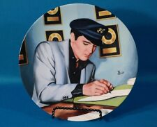 "Delphi Elvis Presley Looking at the Legend ""Closing the Deal"" Plate"