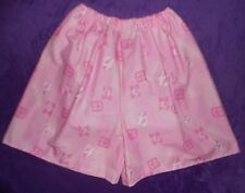 ADULT BABY STYLE  SHORT WITH HIDDEN DIAPER COVER PLASTIC PANTS  WATERPROOF