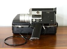Canon Auto Zoom 518 SV Super 8 Movie Camera w/ Official Case - Parts or Repair