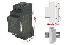 MeanWell HDR-30-12 Trasformatore Rotaia Industriale 12V 24W 2A Barra Guida DIN