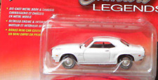 Johnny Lightning 1969 Chevy Camaro COPO White Chrome Hubs 2/6R1 Camaro Legends
